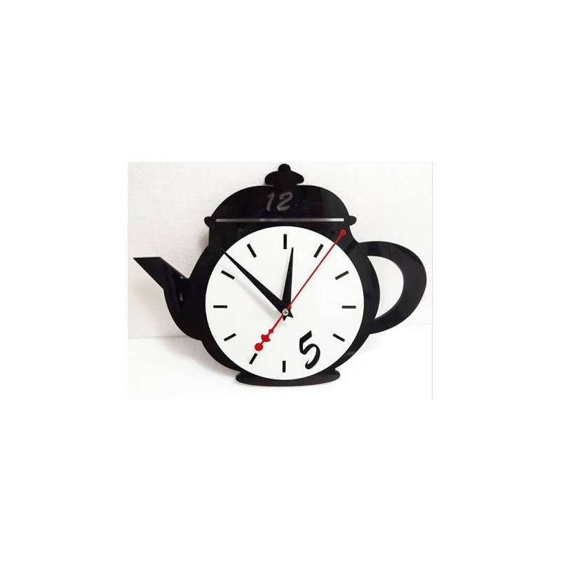 Teapot Acrylic Wall Clock