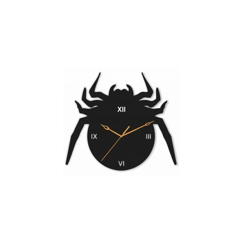 Fat Spidey Acrylic Wall Clock