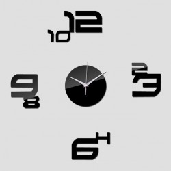 Numbers Acrylic Wall Clock
