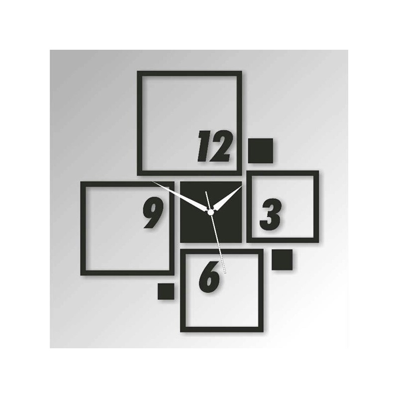 Square Box Acrylic Wall Clock