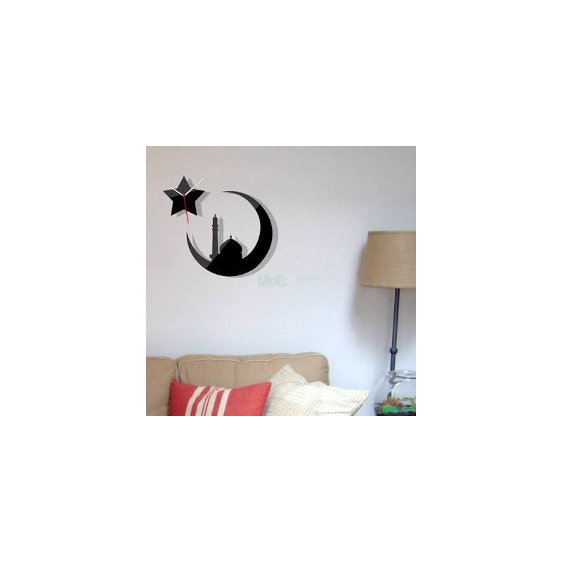 Chand Sitara Acrylic Wall Clock