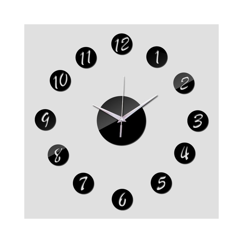 Decent Circle Acrylic Wall Clock
