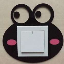 Funny Eyes Acrylic Switch Panel Art