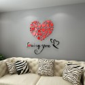 Loving You Acrylic Wall Art