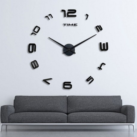buy diy 3d acrylic wall clock i 101 at. Black Bedroom Furniture Sets. Home Design Ideas