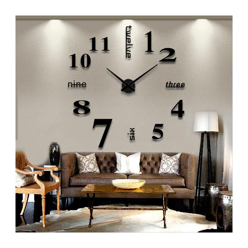 DIY 3D Acrylic Wall Clock I-102