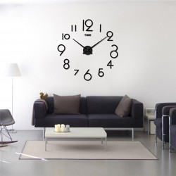 DIY 3D Acrylic Wall Clock I-104
