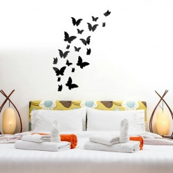 Flying Butterfly Acrylic Wall Art