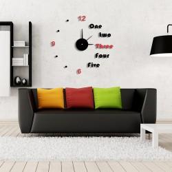 DIY 3D Acrylic Wall Clock I-106