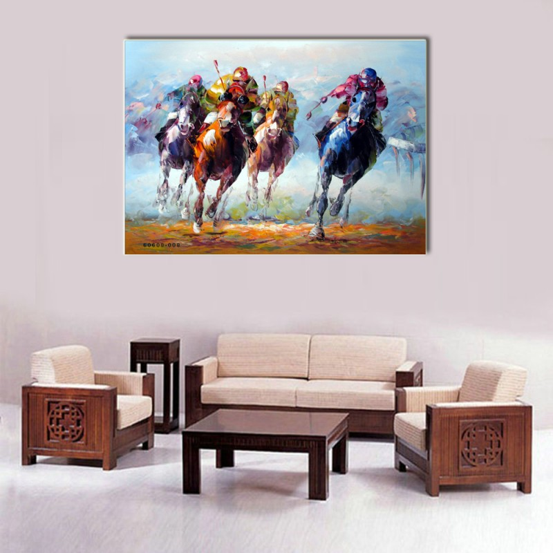Horse Canvas Frame CF-105