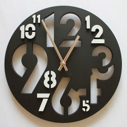 Transparent Design Acrylic Wall Clock