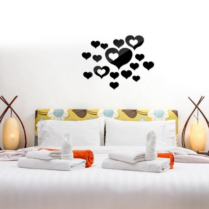 Hearts Acrylic Wall Art