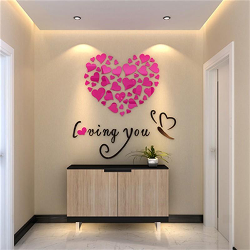 buy loving you acrylic wall art at elifor pk