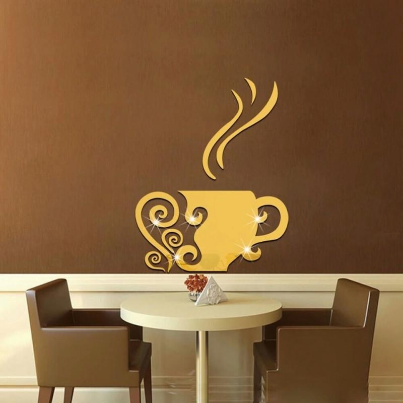 Tea Cup Acrylic Wall Art