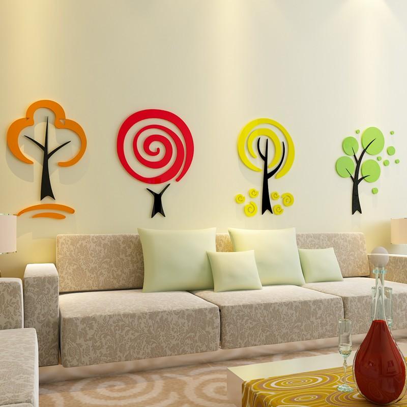 Kinder Trees Acrylic Wall Art