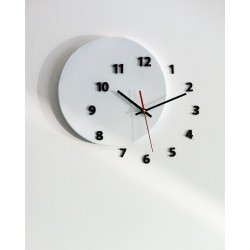 Out of Circle Wall Clock