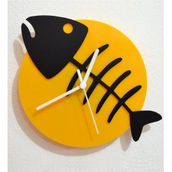 Korona Fish Acrylic Wall Clock