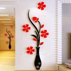 Loterong Plum Vase Acrylic Wall Art