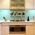 Enjoy Cooking Time Acrylic Wall Art