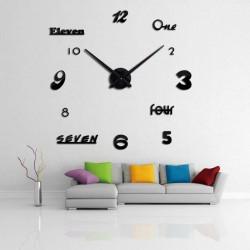 DIY 3D Acrylic Wall Clock I-115