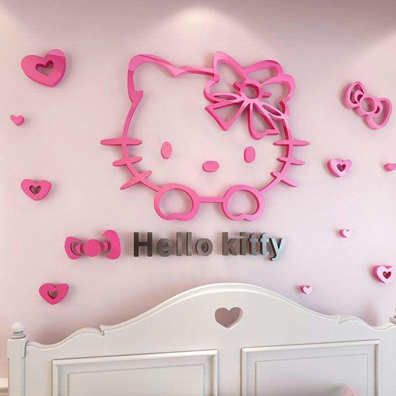 ae197229e Buy Hello Kitty Acrylic Wall Art at | Elifor.pk