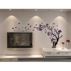 Decor Smart Birds and Tree Acrylic Wall Art