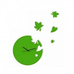 Flower Design Acrylic Wall Clock