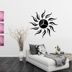 Sunflower Acrylic Wall Clock