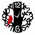 Bird on Tree Acrylic Wall Clock