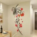 Orchid Vase 3D Acrylic Wall Art