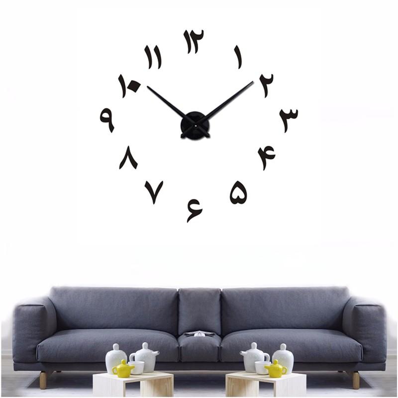 DIY 3D Urdu Font Acrylic Wall Clock I-120