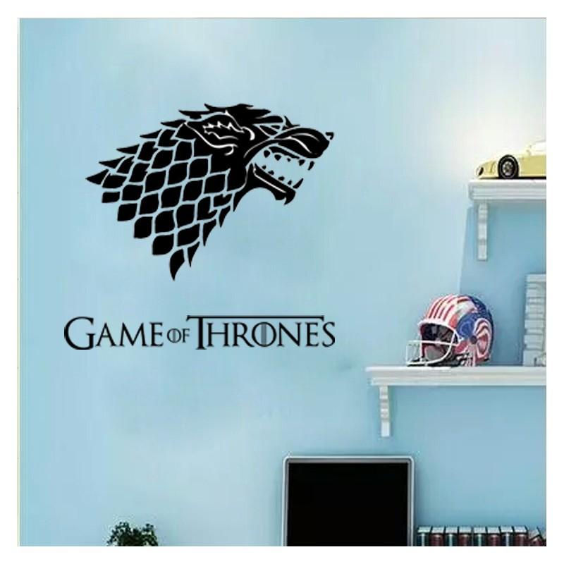 Game of Thrones Wolf Acrylic Wall Art
