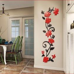Flower Bail Acrylic Wall Art