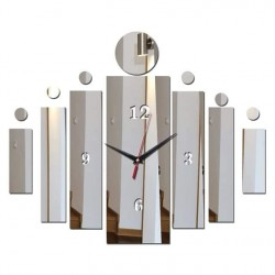 Blocks Design Acrylic Wall Clock