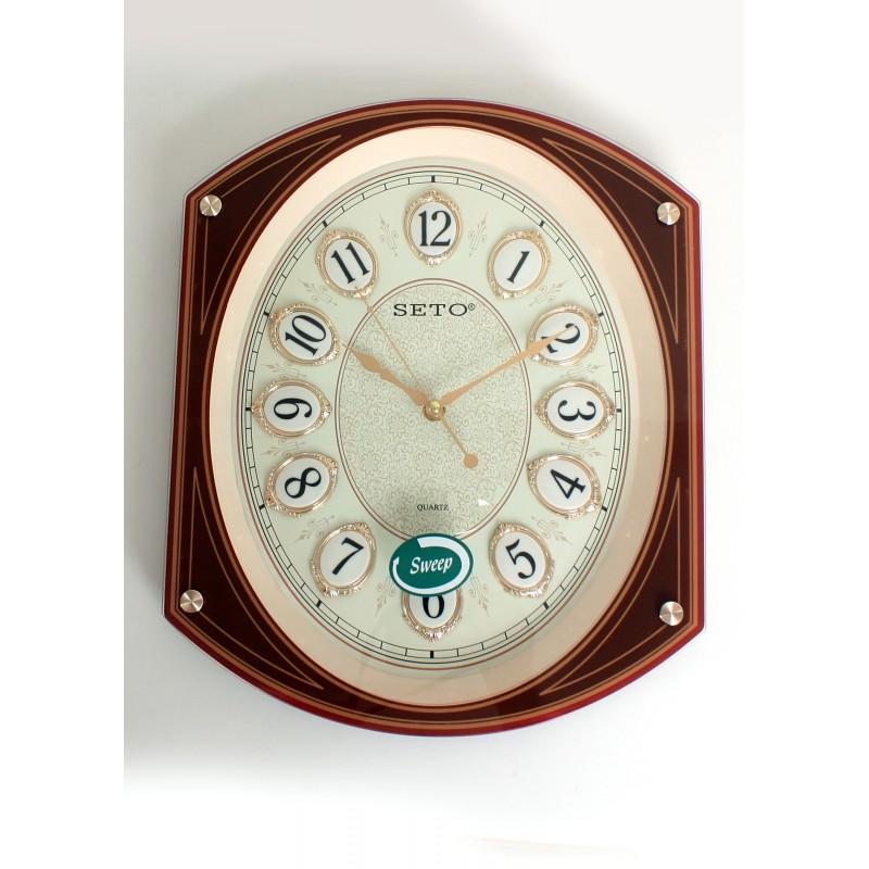 SETO ABS Wall Clock S-1022D