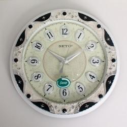 SETO ABS Wall Clock S-1025M