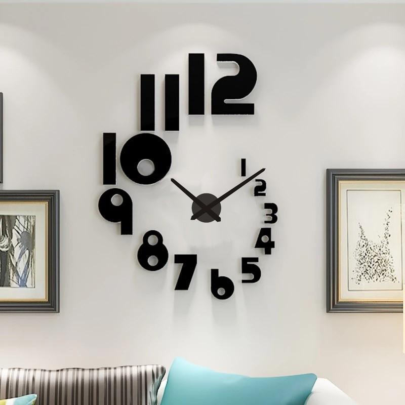 DIY 3D Acrylic Wall Clock I-122