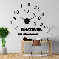 DIY 3D Acrylic Wall Clock I-125