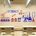 Science Lab Acrylic Wall Art