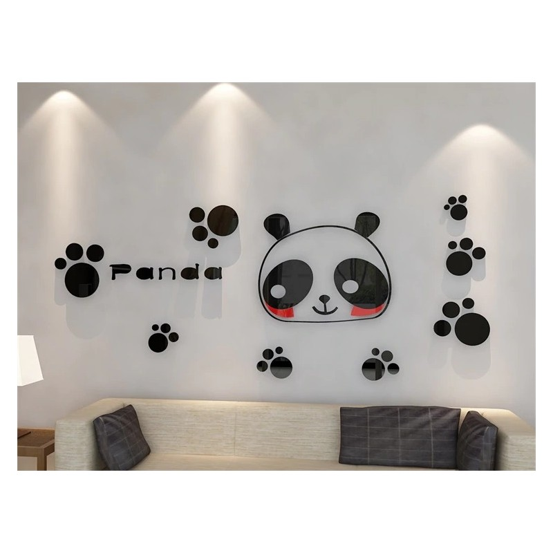 Baby Panda Acrylic Wall Art