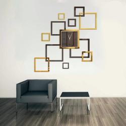 Square Acrylic Wall Clock
