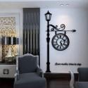 European Irish Acrylic Wall Clock